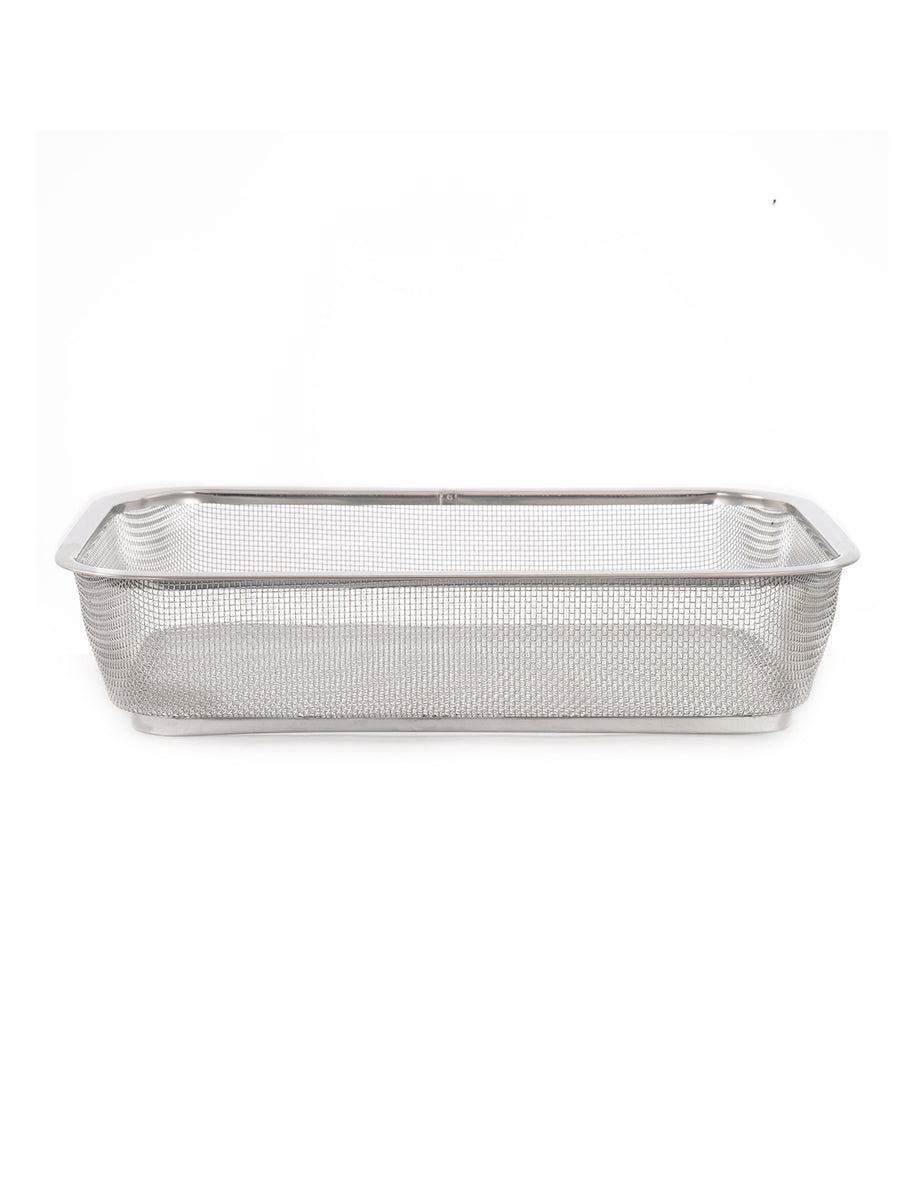Stainless Steel Medium Fridge Basket (Silver)