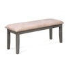 Standfield Dining Bench (Grey)