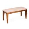 Stassy 4 Seater Dining Bench (Brown)