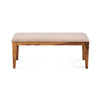 Stassy 6 Seater Dining Bench (Brown)