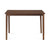 Stella 4 Seater Dining Table (Dark Brown)