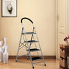 Stepper 4 Steps Ladder (Black & Grey)