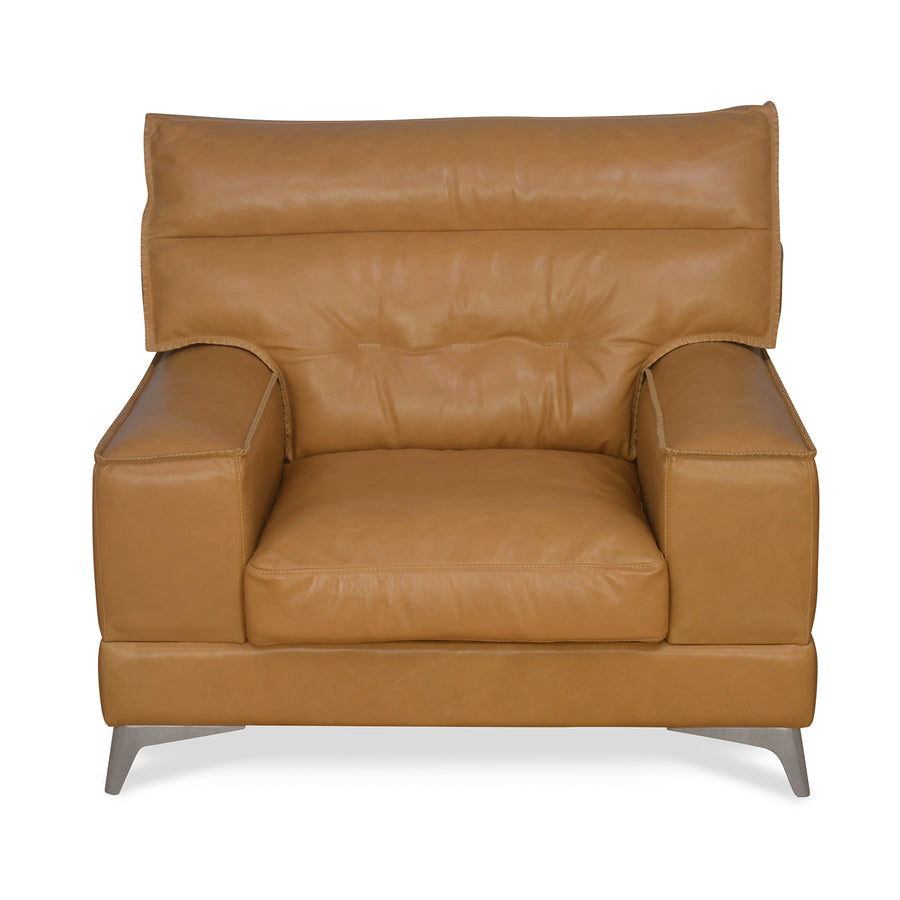 Steven 1 Seater Sofa (Brown)
