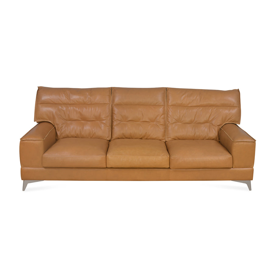 Steven 3 Seater Sofa (Brown)