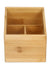 Storage Box 3 Segs Bambo (Wooden)