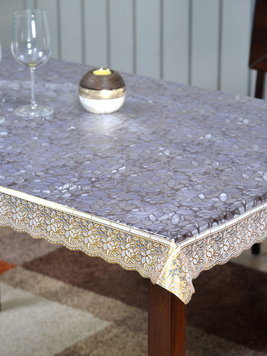 Marvel 4 Seater Embossed Table Cover (Gold)