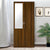 Teana 2 Door Mirror Wardrobe (Classic Walnut)