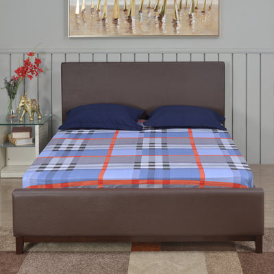 Terence Queen Bed without Storage (Antique Cherry)
