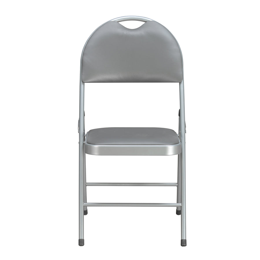 Thorpe Folding Chair (Grey)