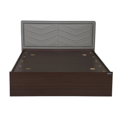 Torrie King Bed with Box Storage (Grey)