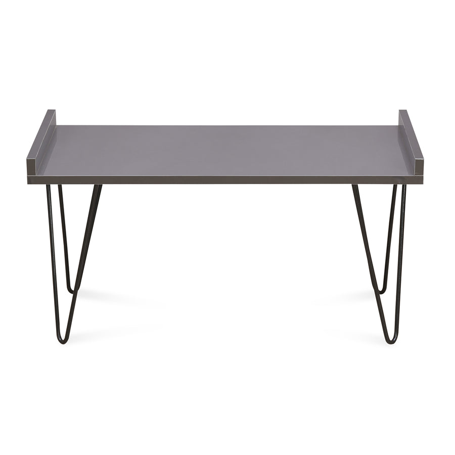 Travers Center Table (Slate Grey)