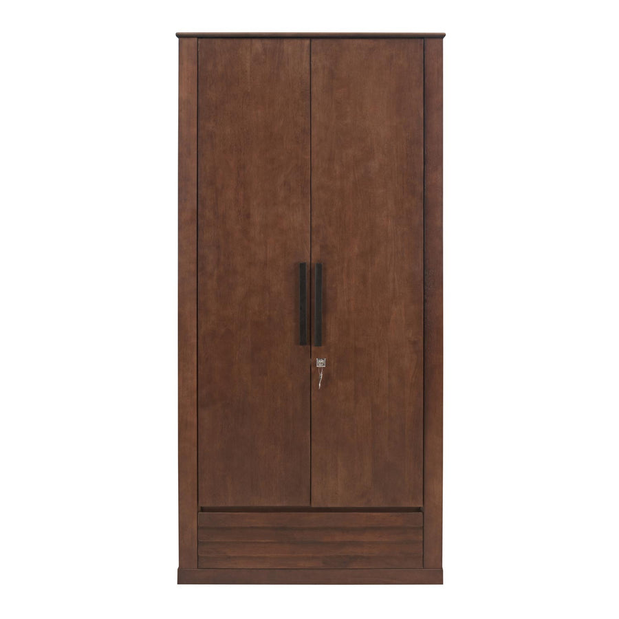 Truman 2 Door Wardrobe (Walnut)
