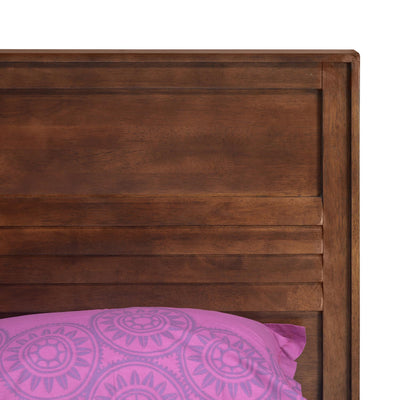 Truman Queen Bedroom Set with Hydraulic Storage (Walnut)