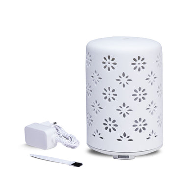 Iris Ultrasonic Perforated White( White)
