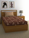 """83"" Diamond Single Bedsheet with 1 Pillow Cover (Beige)"