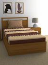 """83"" Shots Single Bedsheet with 1 Pillow Cover (Beige)"