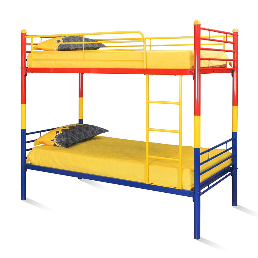 Venice Bunk Bed (Red/Yellow/Blue)