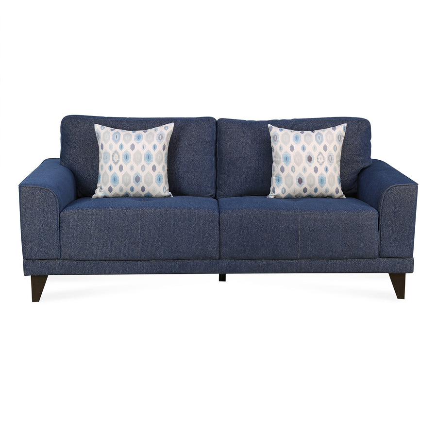 Vibrant 3 Seater Sofa (Blue)