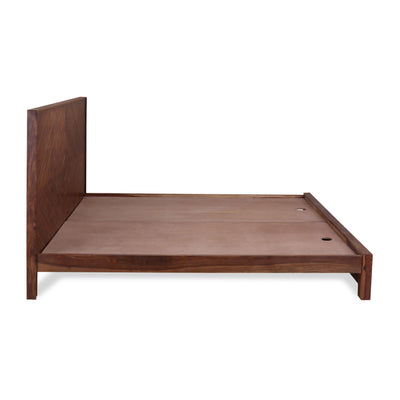 Victory King Bed without Storage (Brown)