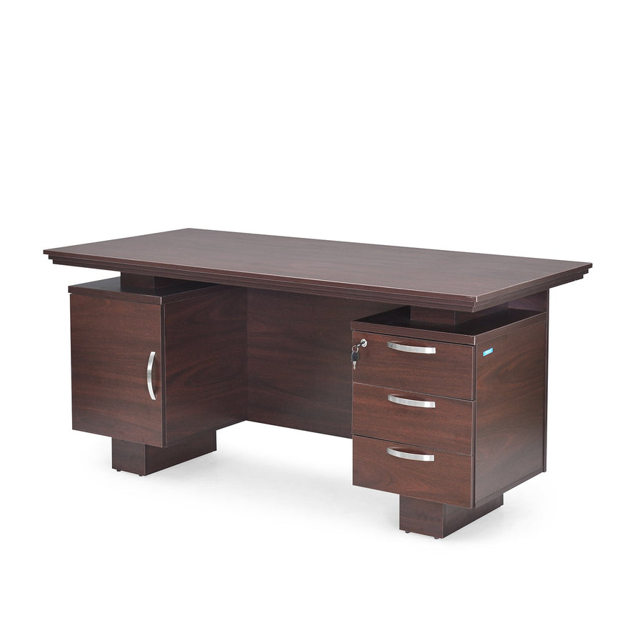 Wales Office Table (Mahogany)