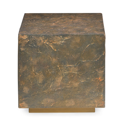 Wallance Side Table (Texture Brown)