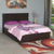 Waverton King Bed With Box Storage (Wenge)