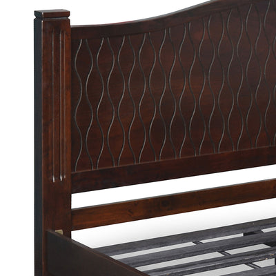 Wellington  King Bed Without Storage (Wenge)