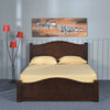 Wellington Queen Bed Without Storage (Wenge)