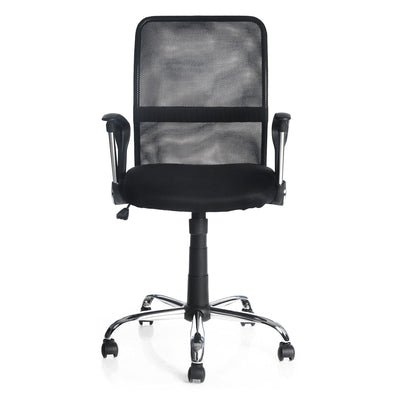Xeon Medium Back Office Chair (Black)