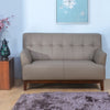 Zach 2 Seater Sofa (Brown)