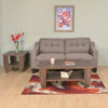 Zella 3 Seater Sofa (Dark Beige)