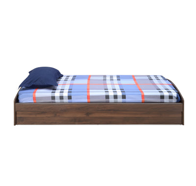 Addison Single Bed with Storage (Walnut)