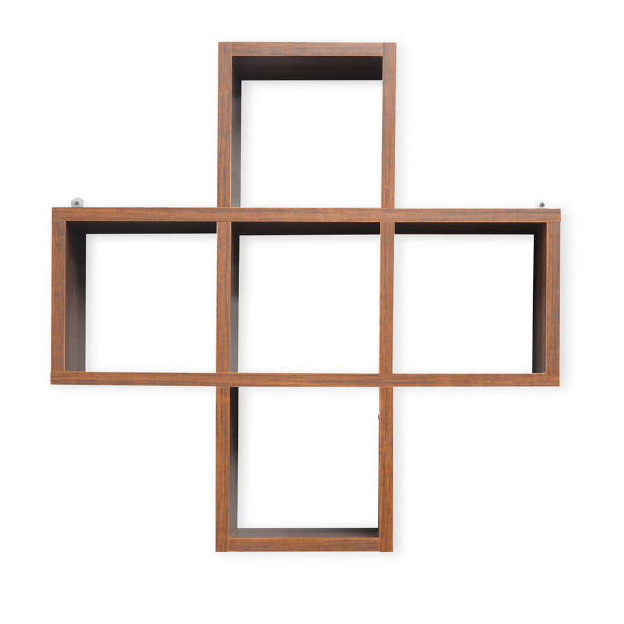 Adele American Wall Shelf (Walnut)