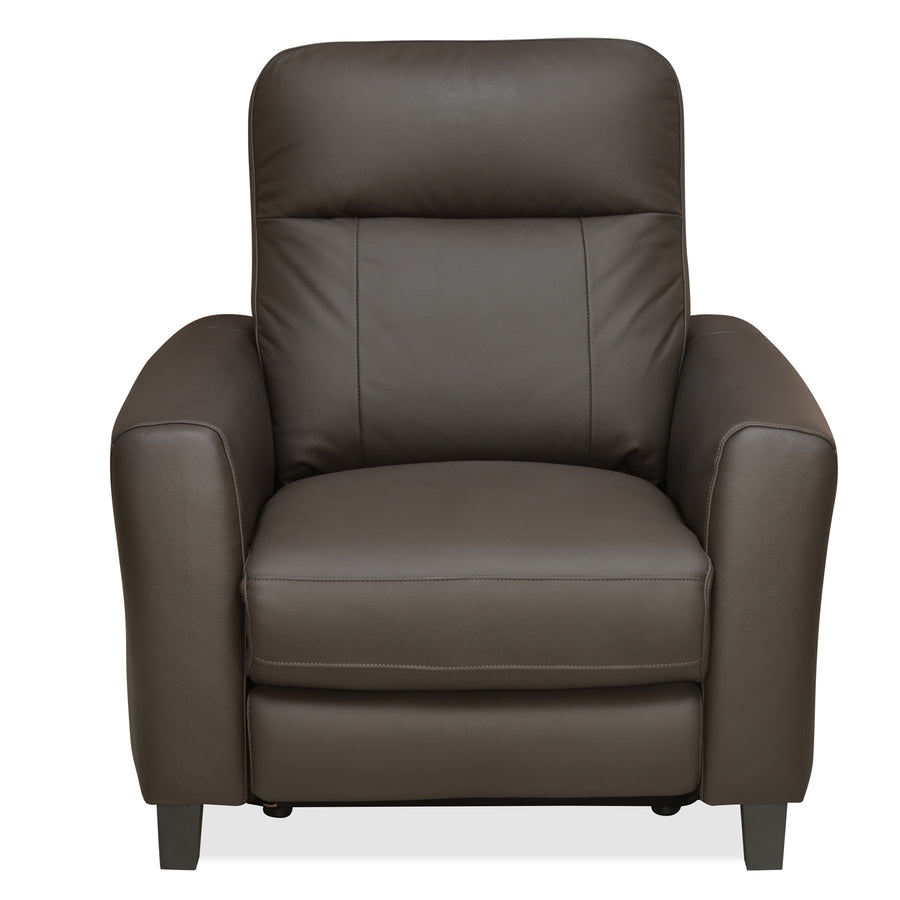 Admiral 1 Seater Sofa With Electrical Recliner (Dark Brown)