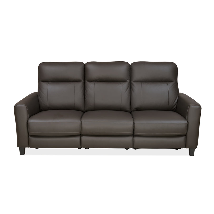 Admiral 3 Seater Sofa With Electrical Recliner (Dark Brown)