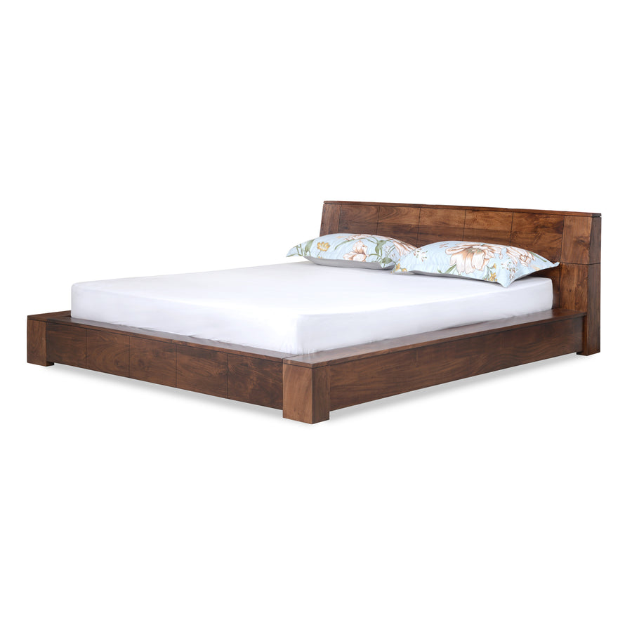 Amelia King Bed Without Storage (Espresso)