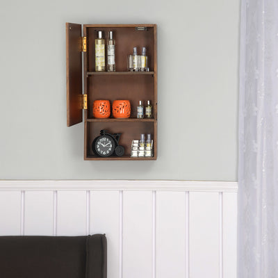 Anson Vertical Wall Cabinet (Walnut)