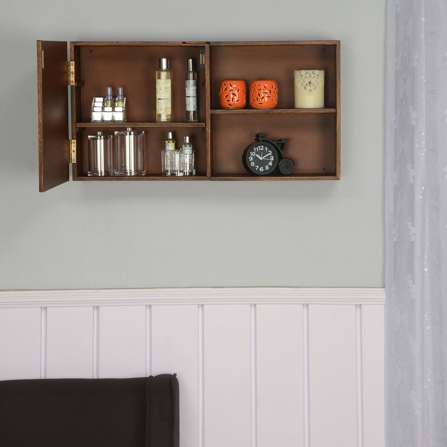 Anson Horizontal Wall Cabinet (Walnut)