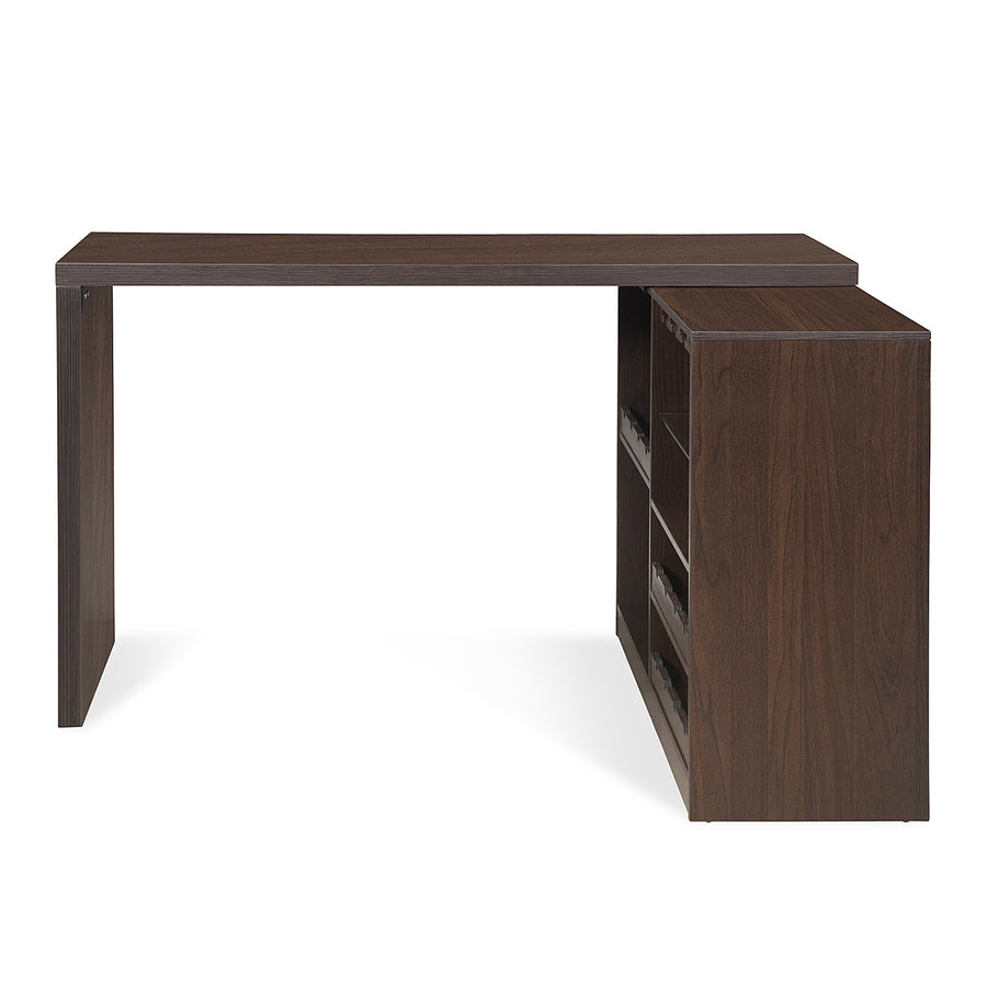 Aro Bar Long Cabinet (Dark Walnut)