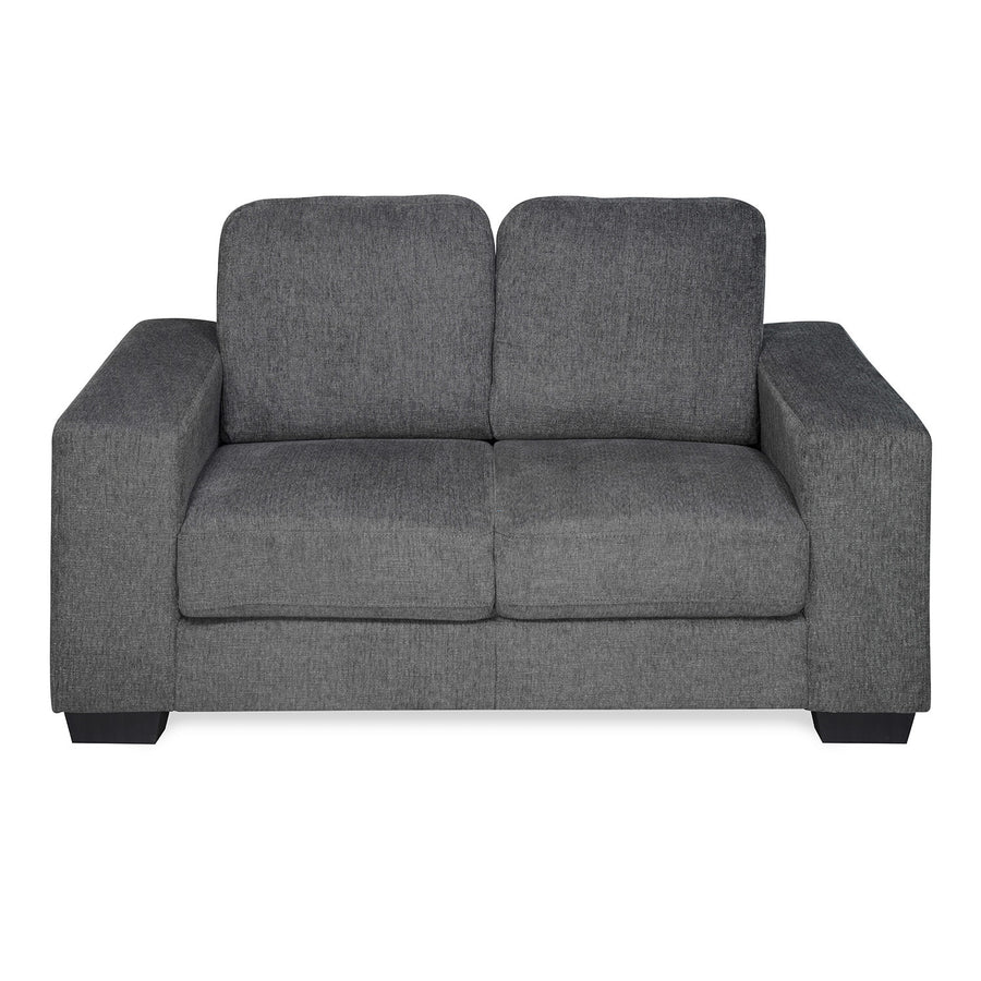 Asher Two Seater Sofa (Dark Grey)