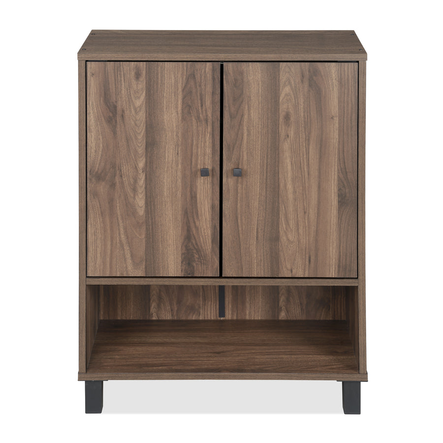 Astero Shoe Cabinet (Walnut)