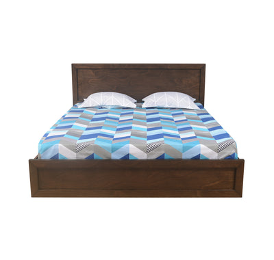 Avatar King Bed With Storage (Light Oak)