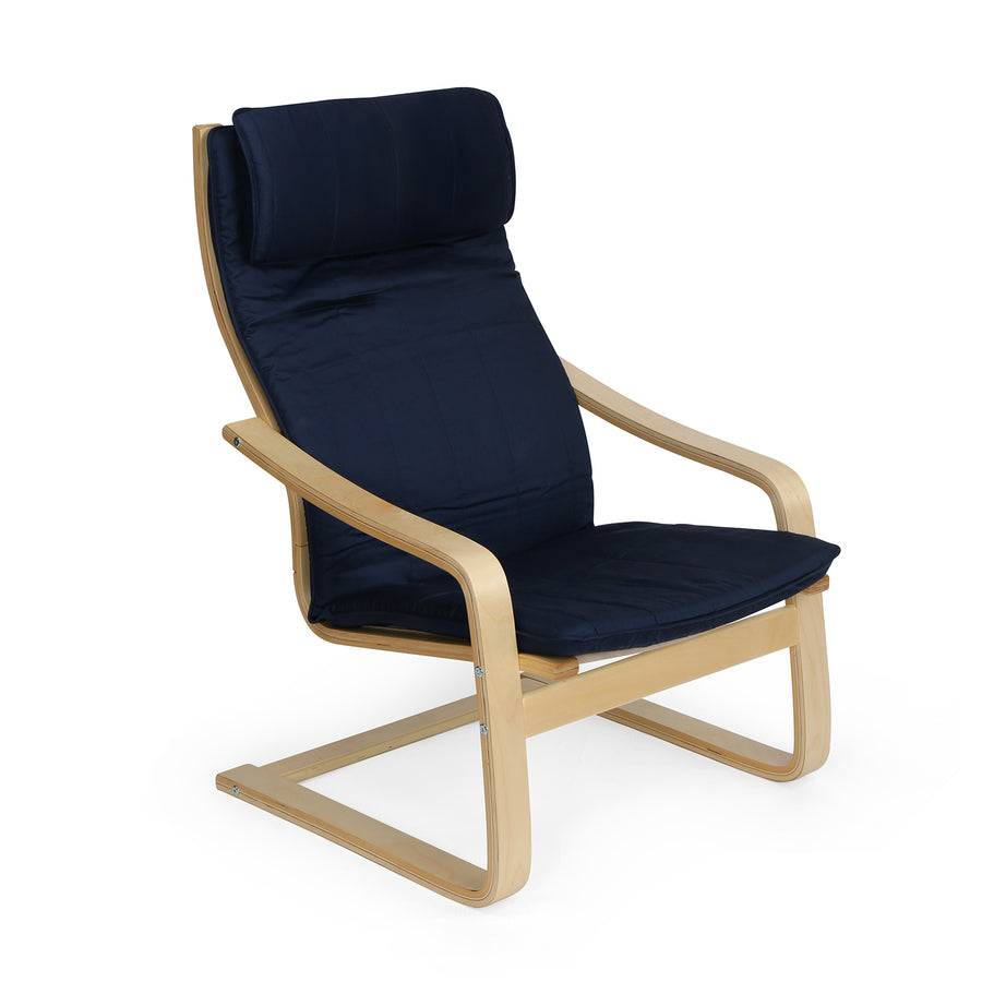 Baker Occasional Chair (Blue)
