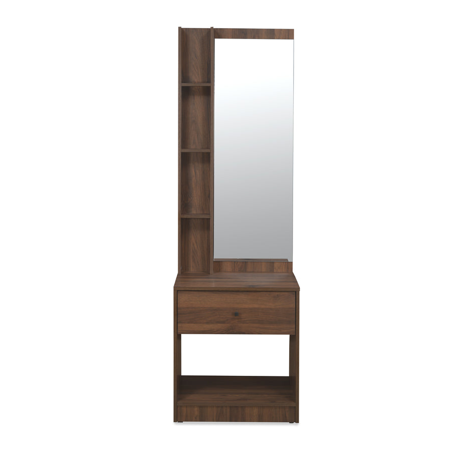 Bergen Dresser With Mirror (Wenge)