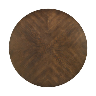 Bernice Center Table (Dark Brown)