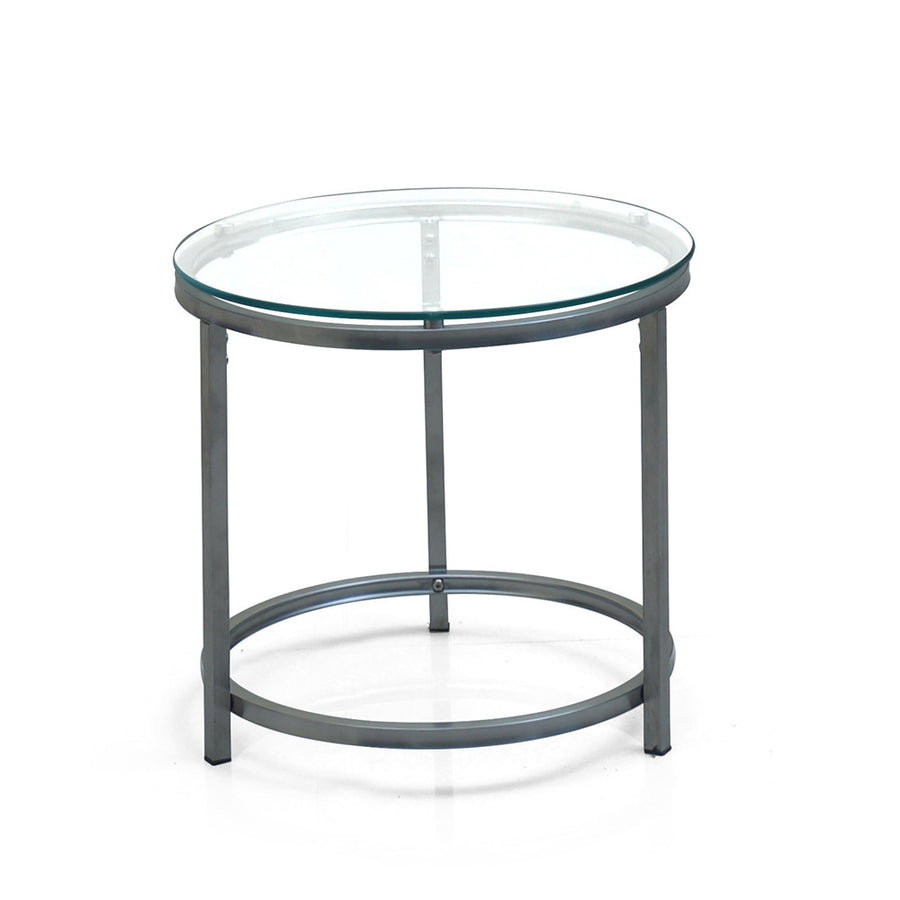 c388c179f4d Britz Side Table Round (Clear)
