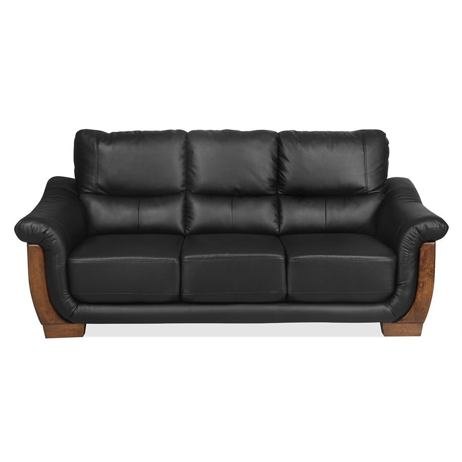 Brooks Three Seater Sofa (Black)
