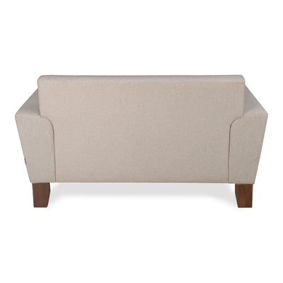 Budapest Two Seater Sofa (Delicate Beige)