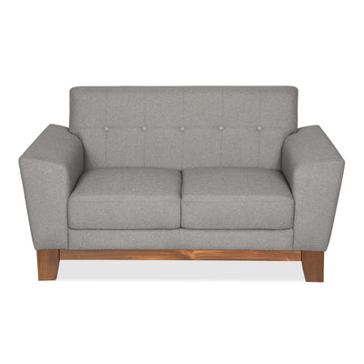Budapest Two Seater Sofa (Elite Grey)
