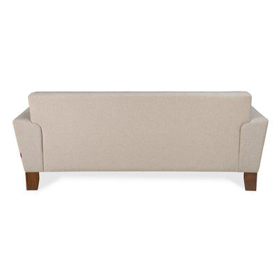 Budapest Three Seater Sofa (Delicate Beige)